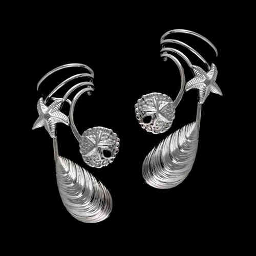 Shells Sterling Silver