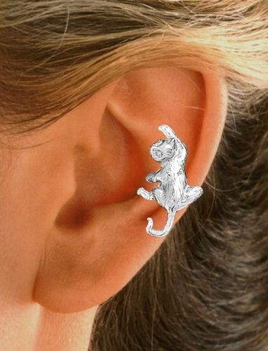 Cat Sterling Silver
